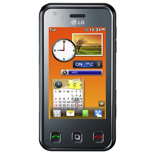Tlphone GSM LG ELECTRONICSRENOIRKC910NOIR