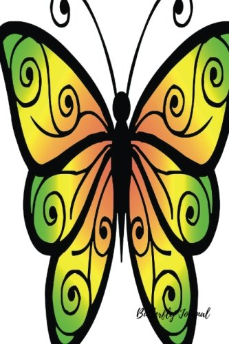 butterfly-journal-small-pocket-4-by-6-mini-blank-empty-unlined-unruled-paper-notebook-to-write-in-fo