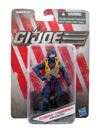 G.I. Joe Cobra Trooper Infantry Figure - 1