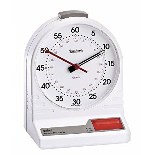 ORIGINAL-Hanhart-Tischstoppuhr-Mesotron-Stoppuhr-Stopuhr-Watch-Stop-Uhr