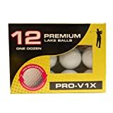 Titleist Prov1 and Prov1X Dozen In Clam Recycled Balls - White