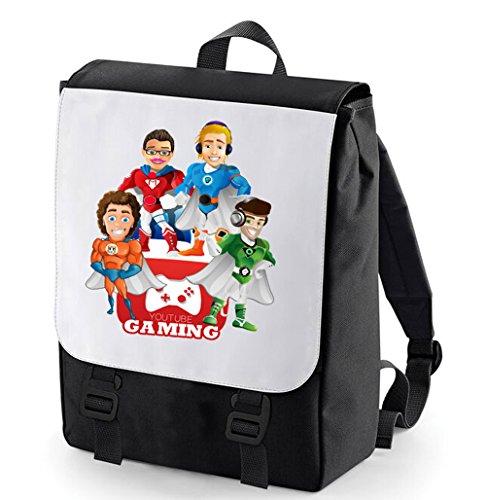 jacksepticeye-pewdiepie-markiplier-stampylongnose-superheroes-youtube-backpack-bagbase