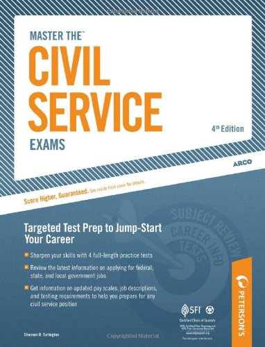Master The Civil Service Exam: Targeted Test Prep to Jump-Start Your Career (Arco Master the Civil Service Exams)