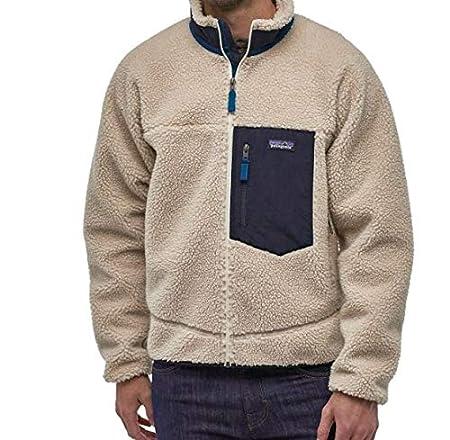 patagonia(パタゴニア) 2019 メンズ クラシック レトロX ジャケット Men's Classic Retro-X Fleece Jacket 23056 フリースジャケット (Natural (NAT), XXL) [並行輸入品]