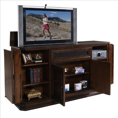 Buy low price kensington tv lift cabinet at004745 for Tv lift consoles for flat screens