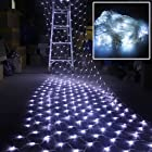300 LED White Net Mesh Fairy String Light Christmas Lights Lighting Party Wedding Xmas Tree-wrap