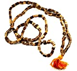 TULSI JAPA MALA ~ w/ Om Symbol Meditation Sleeve