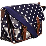 Swanky Swans Ashley Polka Dot Satchel, Sac bandoulière femme