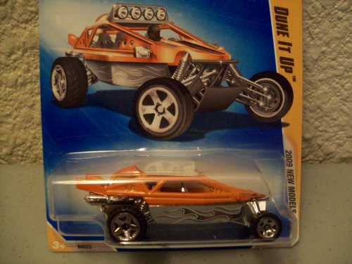 Hot Wheels 2009-020 New Models Dune It Up 1:64 Scale ORANGE - 1