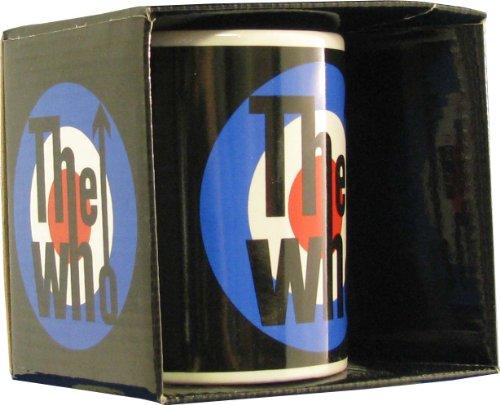 Rock Off The Who Black Target Coffee Mug