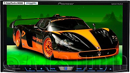 Pioneer AVH-4100NEX 2-DIN Multimedia DVD Receiver with 7