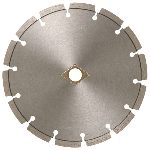 MK Diamond 160682 MK-99 14-Inch Dry or Wet Cutting Segmented Saw Blade with 1-Inch Arbor for Concrete and Brick