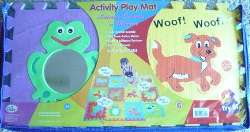 Cheap Verdes Foam Puzzle Activity Play Mat W/Animal Sounds (B000YM9R08)