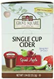 Grove Square Spiced Apple, Sugar Free, 24-Count Single Serve Cup for Keurig K-Cup Brewers