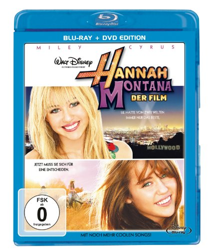 Hannah Montana - Der Film (+ DVD) [Blu-ray]