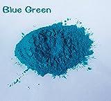 30g Healthy Natural Mineral Mica Powder Diy For Soap Dye Soap Colorant makeup eyeshadow Soap Powder (blue green)