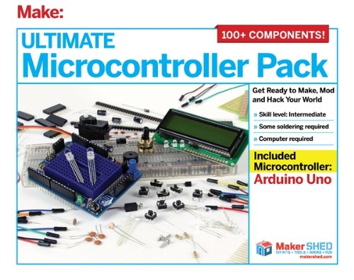 Ultimate Arduino Microcontroller Kit (Over 100 Pieces)
