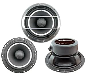 Lanzar VB26 Vibe 500 Watts 6.5'' 2 Way Coaxial Speakers