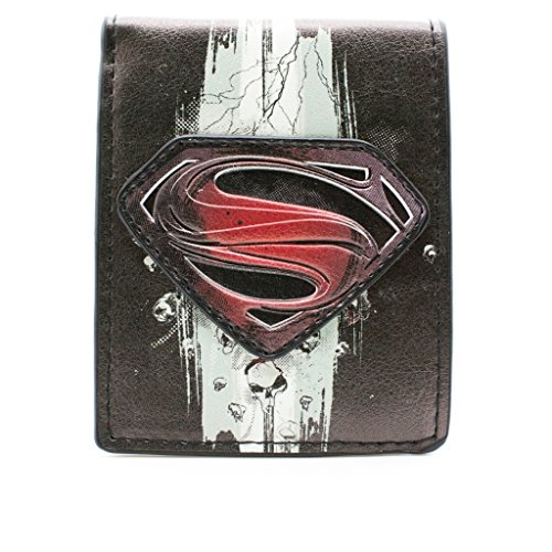 dc-comics-superman-man-of-steel-skull-multicolore-portefeuille