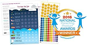 Good Night, Sleep Tight Reward Chart - The Ultimate Sleep Chart for Children (2yrs+)