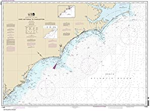 NOAA Chart 11520 Cape Hatteras to Charleston 333 X 45 TRADITIONAL PAPER