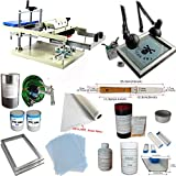 INTBUYING Cylinder Screen Printing Kit Cylindrical Screen Printing Machine Press Cup Bottle Printing