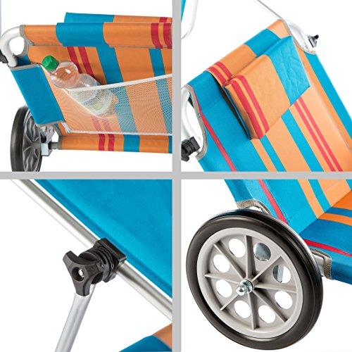 sonnenliege mit rollen milano sonnenliege mit rollen aluminium graphit stern pavilla online. Black Bedroom Furniture Sets. Home Design Ideas