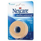 "Nexcare Absolute Waterproof First Aid Tape, 1"" x 5 yds-1 roll"