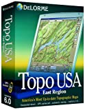 Delorme Topo USA Mapping Software 6.0 East Region