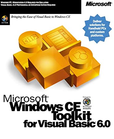 WinCE ToolKit for VB 6.0 English NA CD [Old Version]