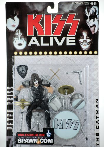 Buy Low Price McFarlane Kiss Alive – The Catman Peter Criss Figure (B001E8Z8AY)