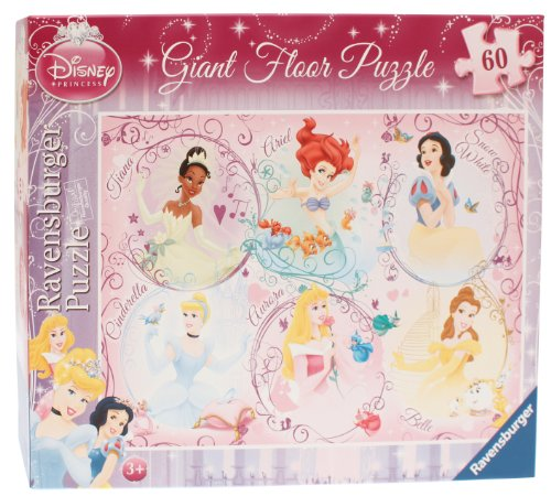 Cheap Fun Ravensburger Disney Princess 60 Piece Giant Floor Puzzle (B004I8VMSY)