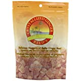 Reed's Crystallized Ginger Candy, 3.5-Ounce Bags (Pack of 12) ~ Reeds