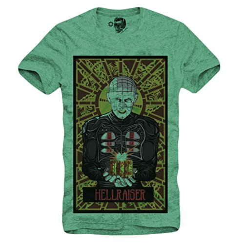 Eco-Friendly Pre-Shrunk Hellraiser T-shirt for Men - S to XL