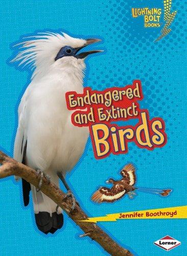 Endangered and Extinct Birds (Lightning Bolt Books Animals in Danger)