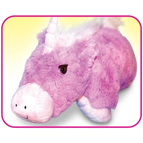 Unicorn huggle buddy toy pet pillow all in one as seen for Amazon com pillow pets