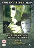 The Invisible Man / Phantom of the Opera [DVD][1933/1943]