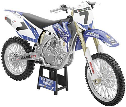 New Ray Toys Offroad 1:12 Scale Motorcycle San Manuel L&M James Stewart NO. 1