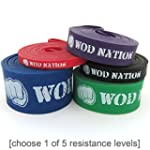 WOD Nation Resistance Bands Exercise...