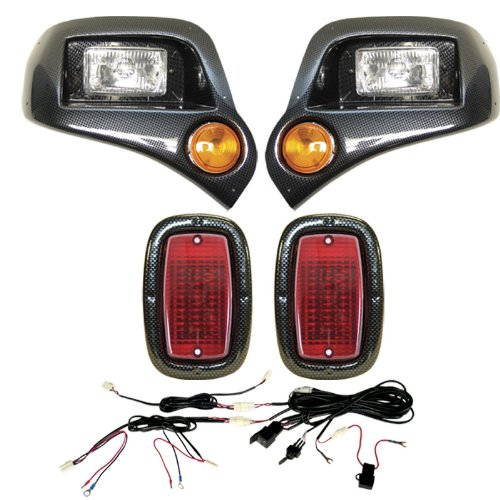 Ya G1422 Light Kit Headlights, Led Taillights, Harness Cf