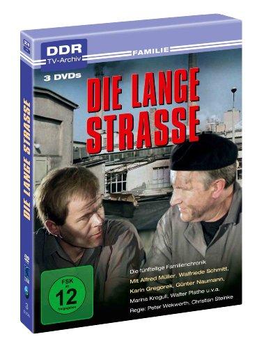 Die lange Strasse ( 3 DVDs ) - DDR TV-Archiv