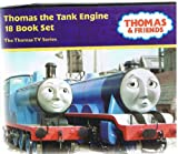 Thomas the Tank Engine box set - 18 books Edward the Very Useful Engine, Toby had a Little Lamb Trouble for Thomas Thomas, Percy and the Squeak, Thomas and the Jet Set Engine Thomas and the Ghost Engine Rusty Saves the Davy Percy's Chocolate Crunch