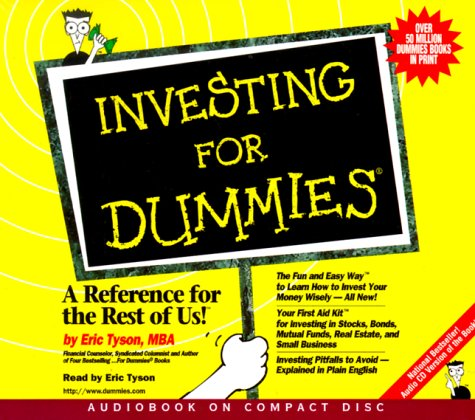 INVESTING FOR DUMMIES AUDIO BOOK  INVESTING FOR DUMMIES