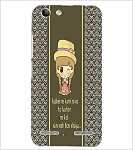 PrintDhaba Quote D-4306 Back Case Cover for LENOVO A6020a46 (Multi-Coloured)