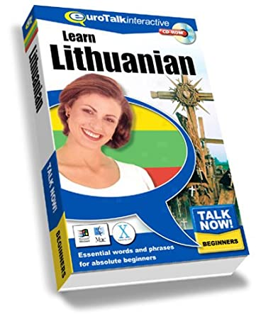 Talk Now Learn Lithuanian: Essential Words and Phrases for Absolute Beginners (PC/Mac)