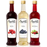 Amoretti Premium Syrups Berry 3 Pack
