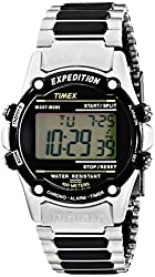 "Timex Men's T77517 ""Expedition"" Resin Watch with Stainless Steel Bracelet"