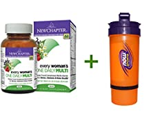 buy New Chapter, Every Woman'S One Daily Multi, 96 Tablets, Now Foods, 3 In 1 Sports Shaker Bottle, 25 Oz