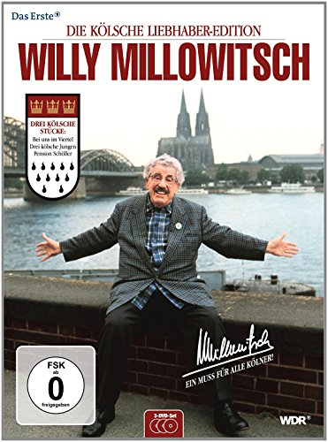 Willy Millowitsch - Die kölsche Liebhaber-Edition [3 DVDs]