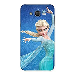 Stylish Angel And Cutness Back Case Cover for Galaxy J7